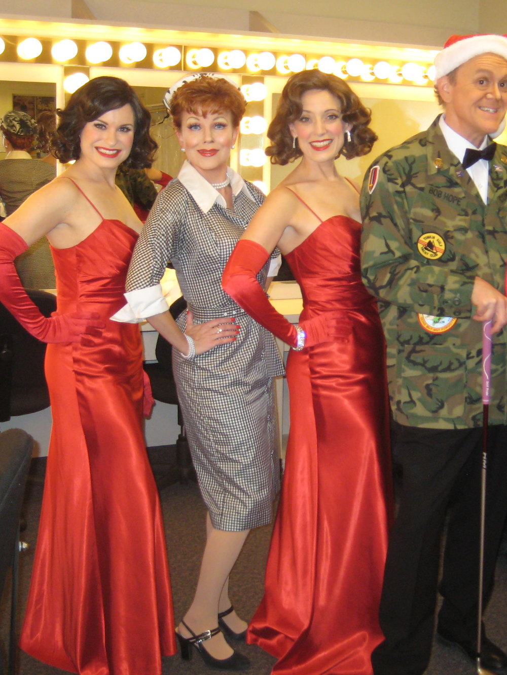 The McGuire Sisters, Bob, and Lucy! Holiday show at Turning Point Casino