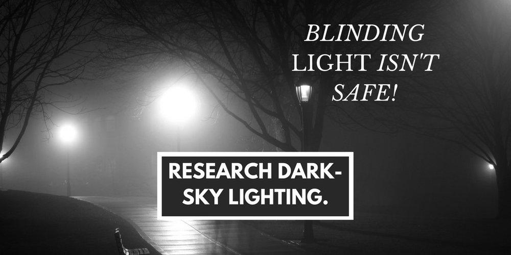Blinding Light isn't Safe.