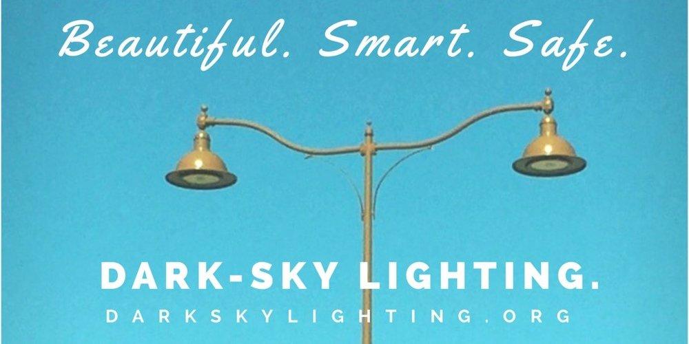 Beautiful. Smart. Safe. Dark-Sky Lighting.