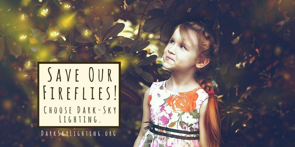 Save Our Fireflies! Choose Dark-Sky Lighting