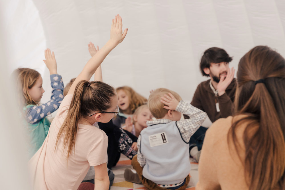 Kids - Assist parents with checking in their children, shepherd and care for the children during the worship services through teaching, singing, dancing, and proclaiming the truth of God's Word.