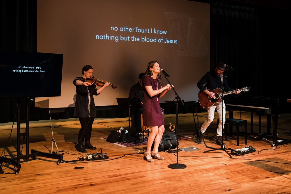 Worship & Production - Use gifts and abilities to minister to the church body through the expression of worship to the Lord through music or production.
