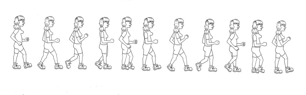 Pretzel Walking