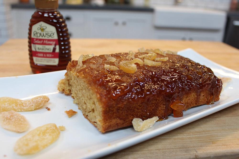 Sticky Ginger Sponge Cake Recipe