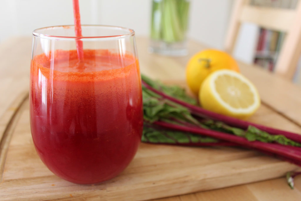 Fresh Beetroot, Carrot and Orange Juice Recipe