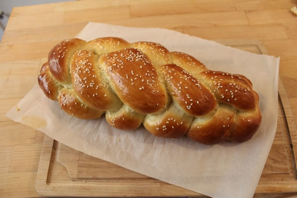 Challah Jewish Bread Recipe