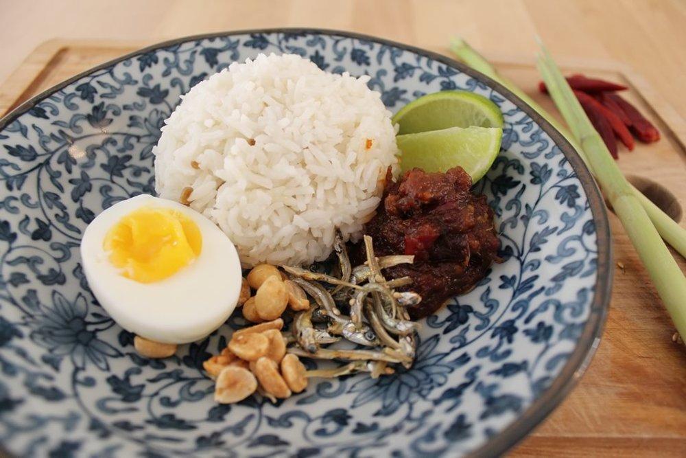 Nasi Lemak Malaysian Recipe