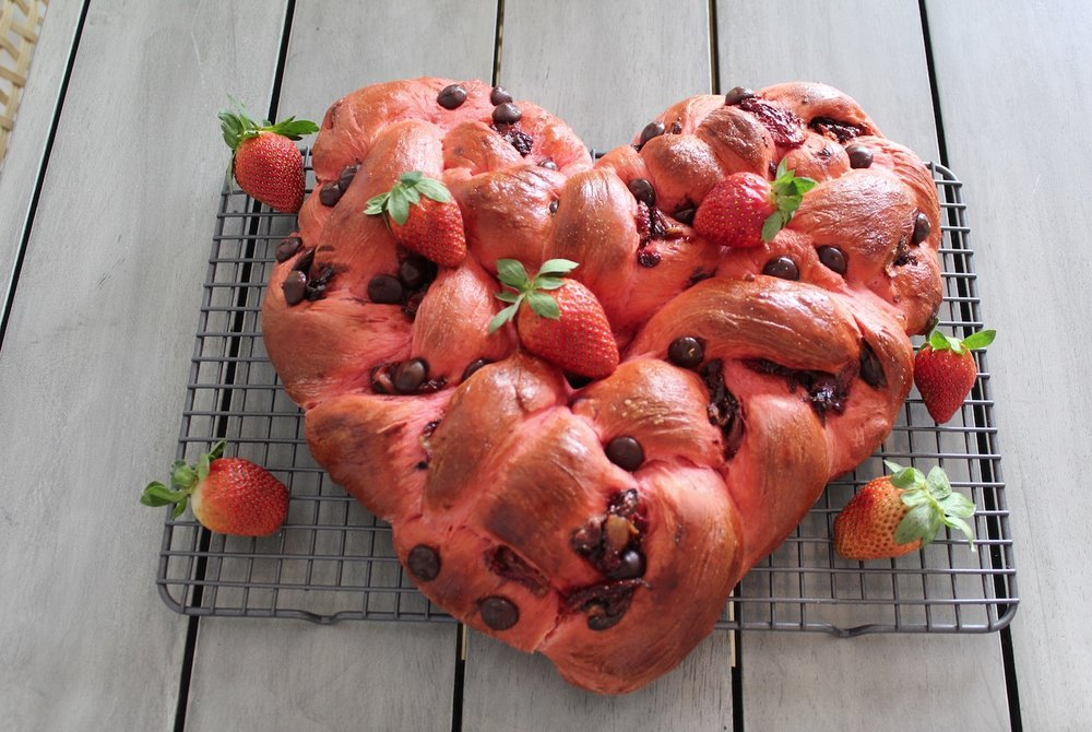 Heart Shaped Challah Recipe