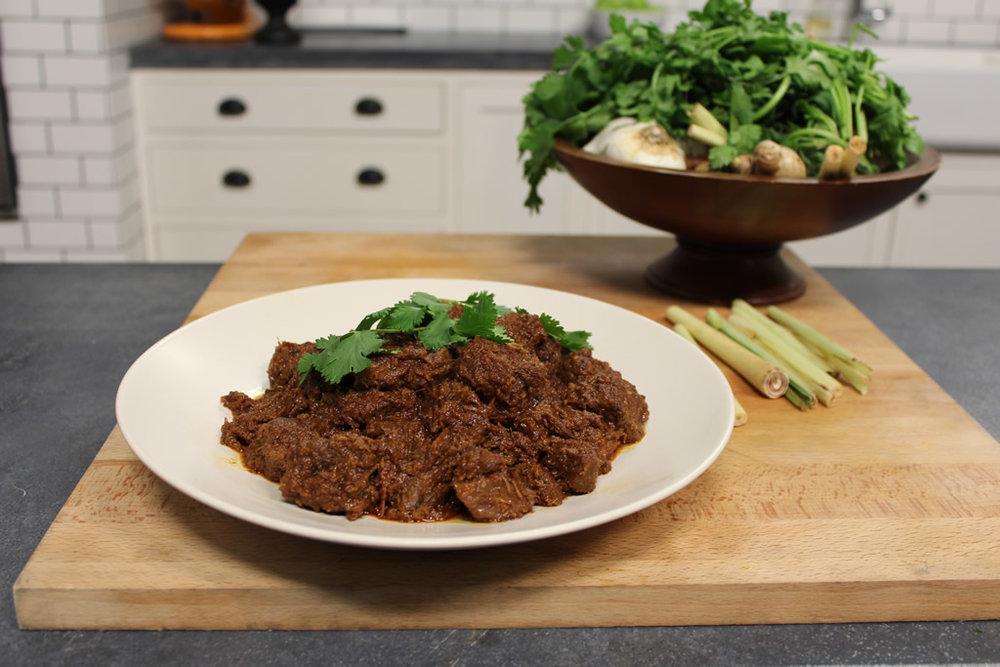 Malaysian beef rendang recipe