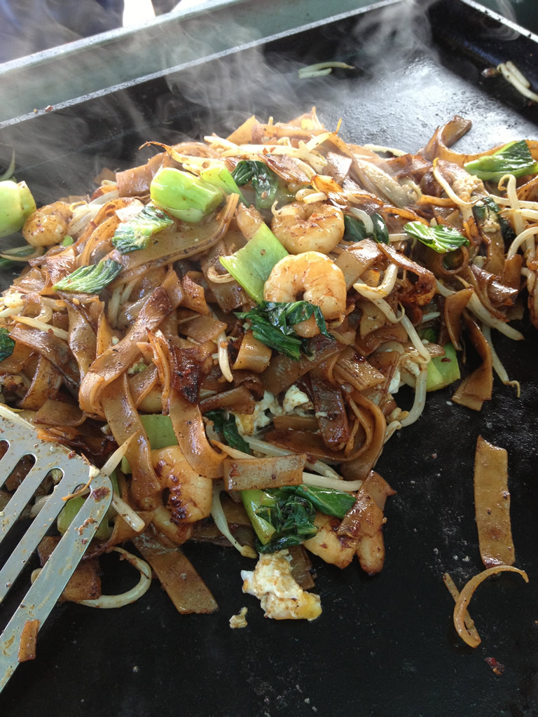 char kway teow Malaysian noodle recipe