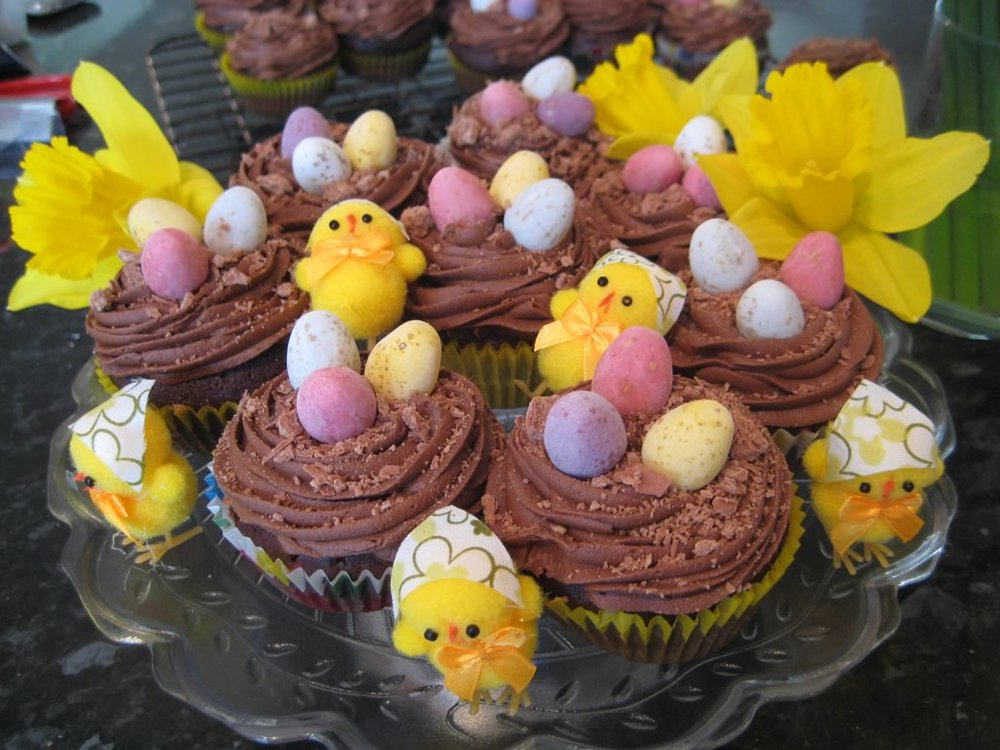 chocolate easter cupcake recipe