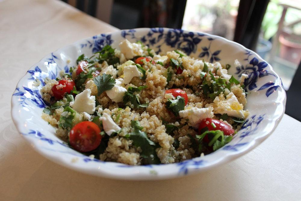 halloumi and quinoa salad recipe