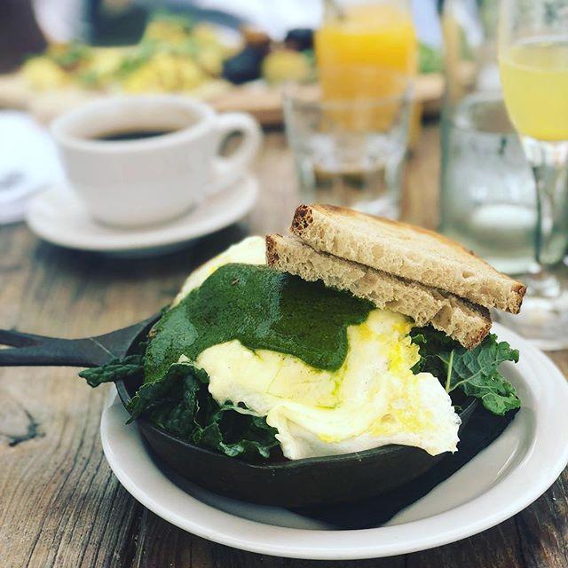 How do you like your eggs in the morning?! 🍳 I like mine at @malibufarm 🤗 🌊 healthy California fresh produce in a beautiful setting by the sea! Ah bliss 💕 . . . #icoulddothiseveryday #bliss #eggs #brunch #malibu #california #breakfast #yum #healthyfood #beachbum #yesplease