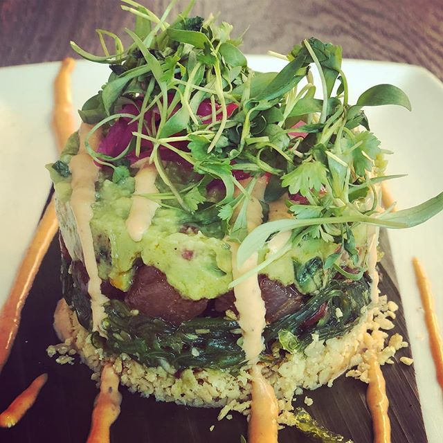 Gotta love a bit of tuna tartare 💕🐟🐟🐟🐟 @redorestaurant does a fantastic one! 🙏🏼 . . . #tuna #seafood #santamonica #yum #getinmybelly #avocado