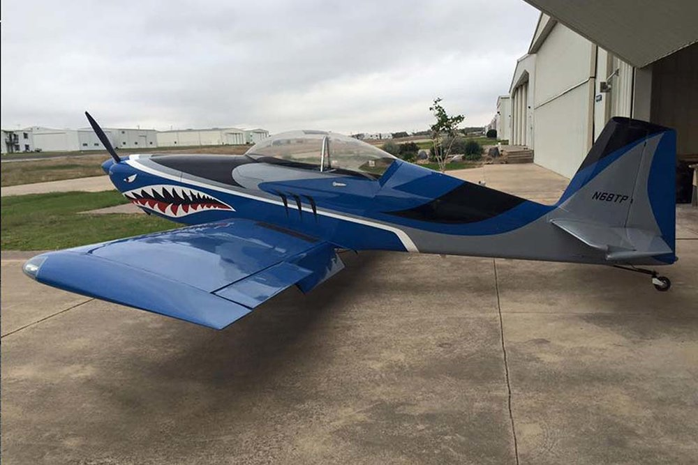 Experimental Van's RV-8 Fastback Aircraft