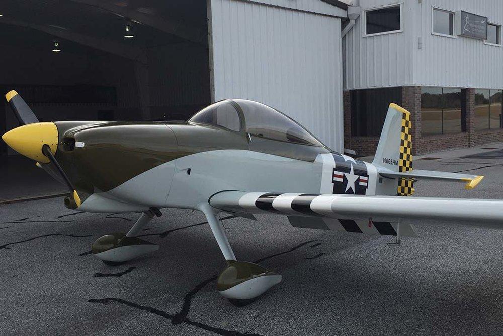 Experimental Van's RV-8 Aircraft