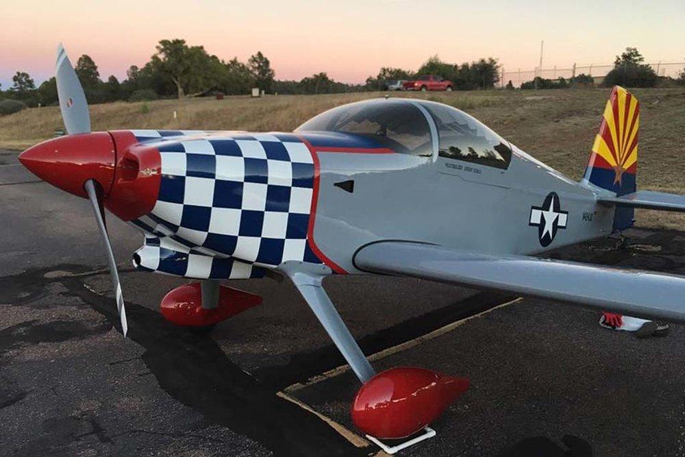 Experimental Van's RV-7 Slider Canopy Aircraft