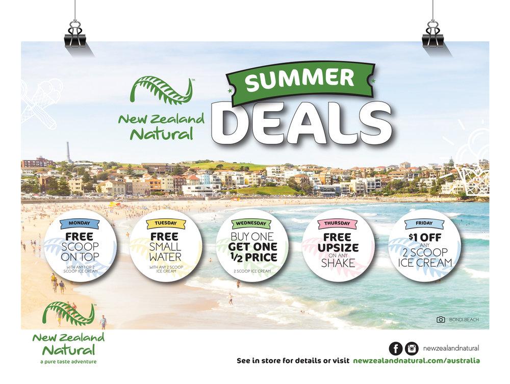 New Zealand Natural Summer Deals