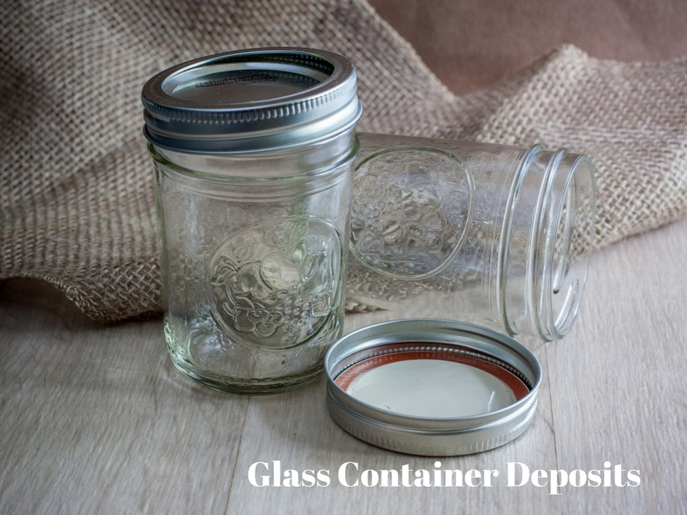 Local Goods Company Glass Container Deposits