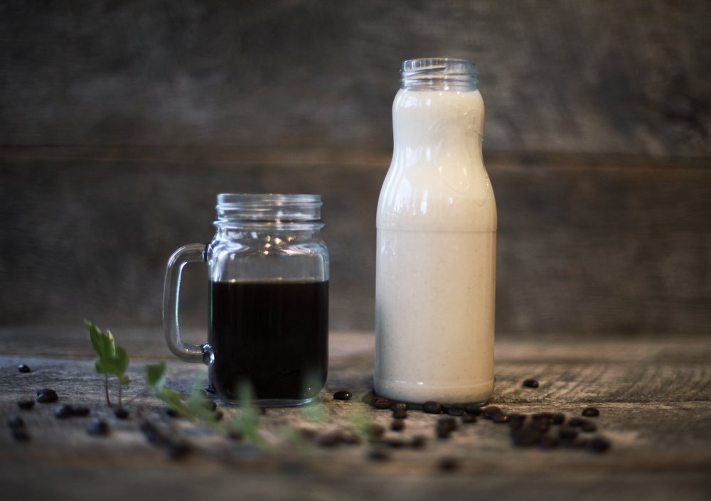 THE BEGINNERS GUIDE TO MAKING YOUR OWN MILK    Homemade milks can be used in coffee, cereal, oatmeal and best of all, smoothies. Want to eat kale but don't like the taste? No problem, add some homemade milk to a blender with a banana and you'll be doing it every day.