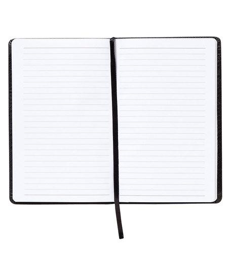 little black book lined notebook nomadic