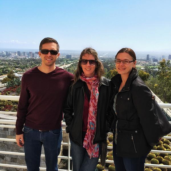 Ricardo, Nik and Julia at AAAAI (2016) Annual Meeting, Los Angeles, CA