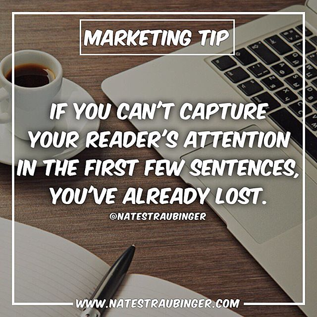 When you put out content, you have to make sure it appeals to your audience and stands out from the noise. Headlines. Headlines. Headlines.