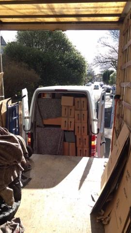 Moving house with restricted access