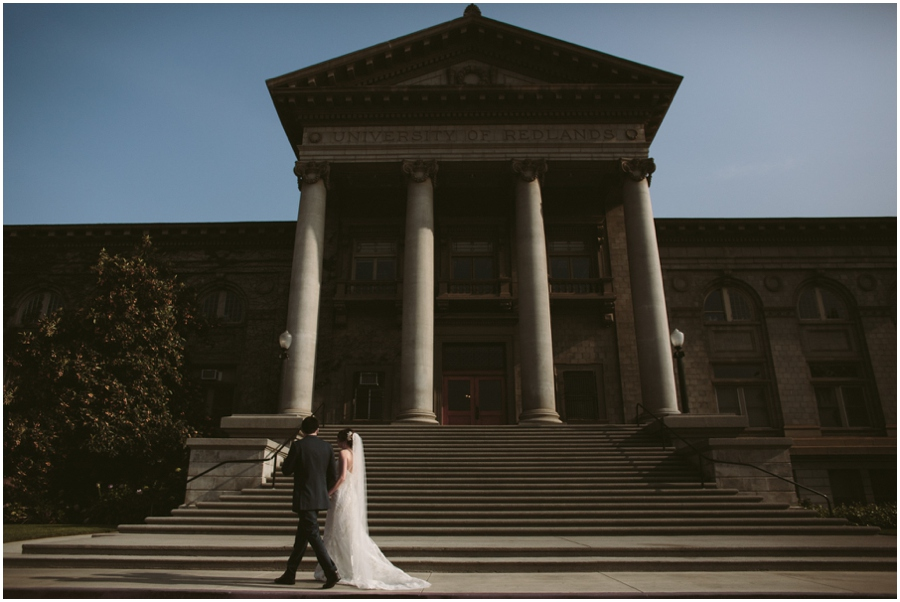 University of Redlands Wedding Photography