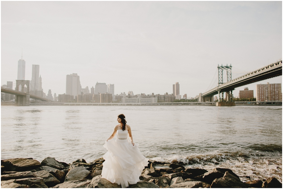 New York City Artistic Wedding Photography