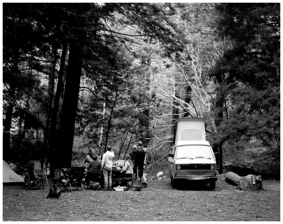 Sidney Morgan • Big Sur Camping