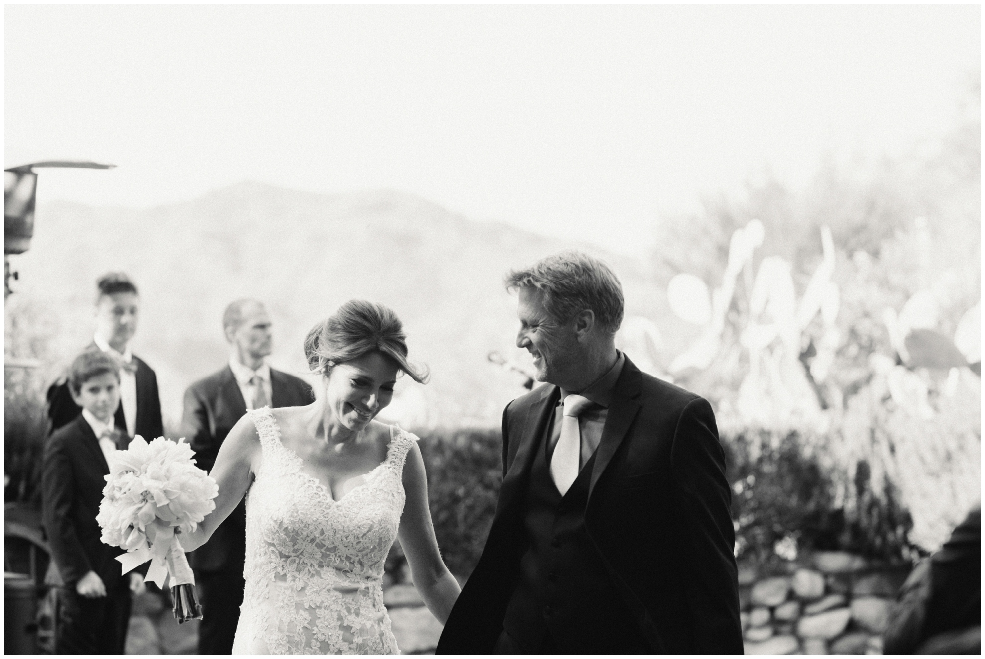 Sidney Morgan • Saddle Peak Wedding