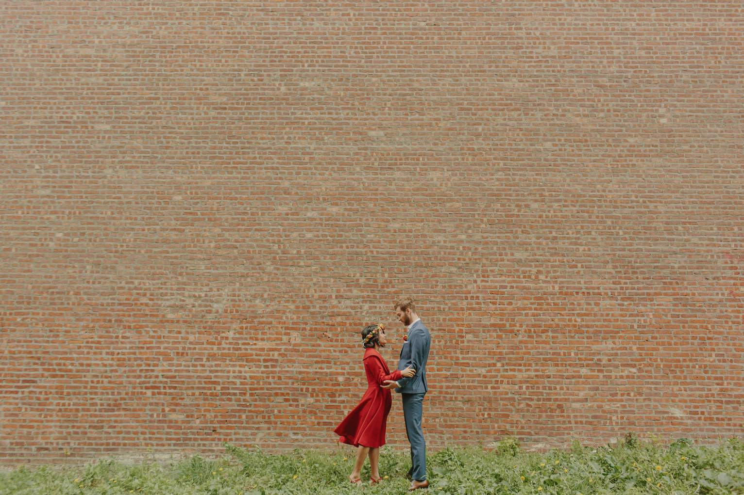 Pospect Park Brooklyn Wedding • Sidney Morgan