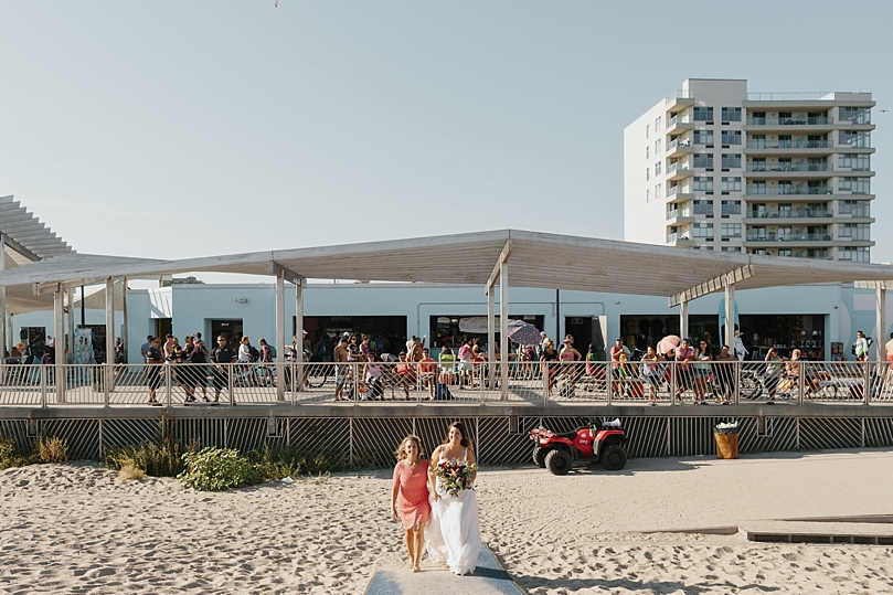 Rockaway New York Beach Wedding