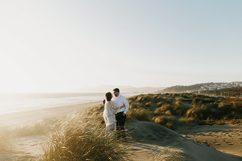 Ocean Beach San Francisco Engagement Session by Sidney Morgan
