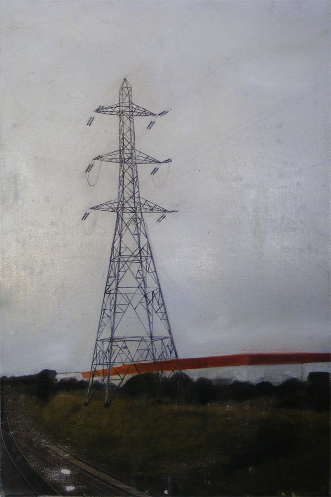 Edgeland 3   2012, oil on linen  50 x 76 cm