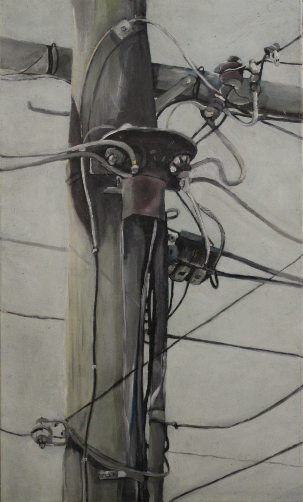 Components: 24712   2011, oil on canvas  50 x 76 cm