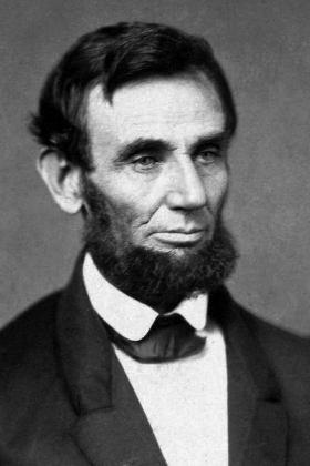 We shall nobly save, or meanly lose, the last best hope of earth.                    Abraham Lincoln