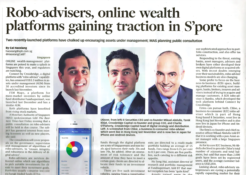 Credit: Business Times, Page 1