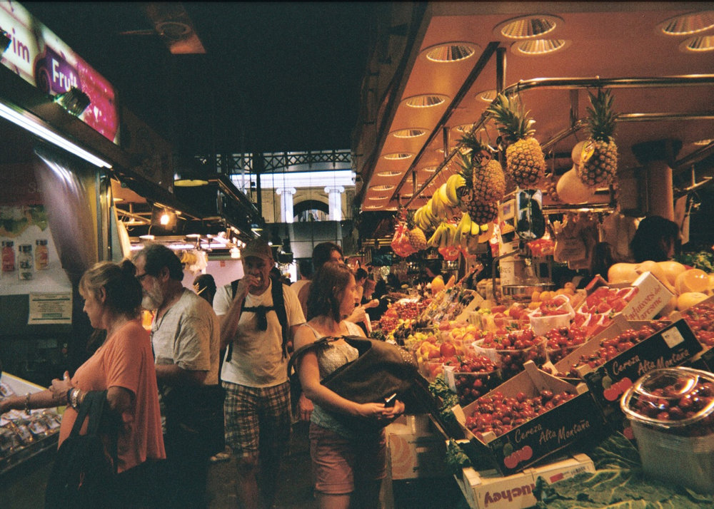 Mercado de La Boqueria - Barcelona, Spain