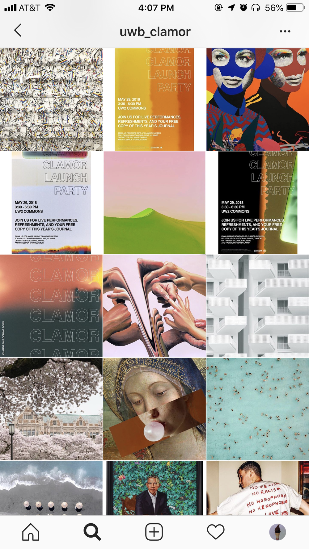 Clamor Instagram Feed