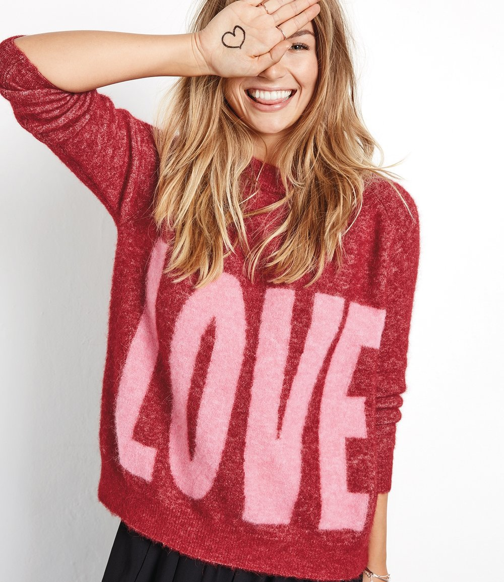 The Hot Flush favourite   HUSH Big Love Jumper £130