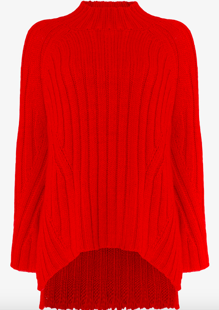 PHASE EIGHT FAE Chunky step hem knitted jumper £99.00