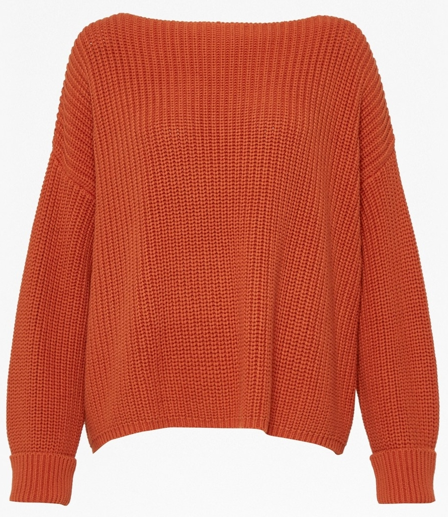FRENCH CONNECTION Millie Mozart Knit Slash Neck Jumper £80.00