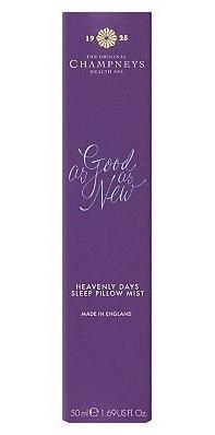 CHAMNEYS HEALTH SPA Heavenly Days Sleep Pillow Mist 50ml £11.00