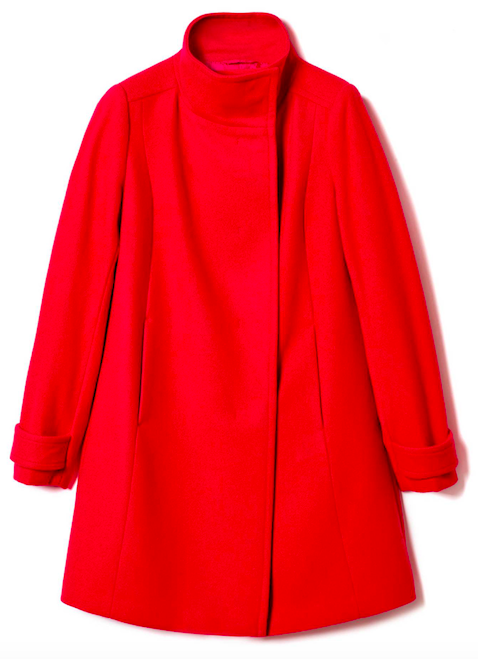Benetton Coat with high neck £99.95