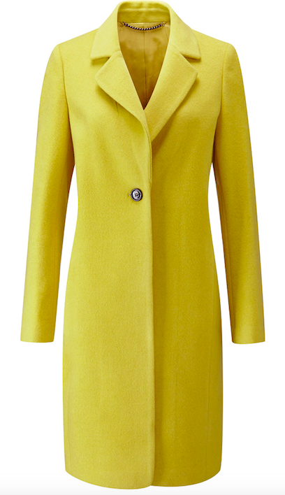 PURE COLLECTION wool single breasted coat £270.00
