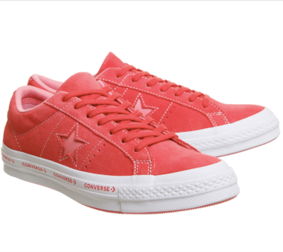 CONVERSE  ONE STAR TRAINERS £64.99
