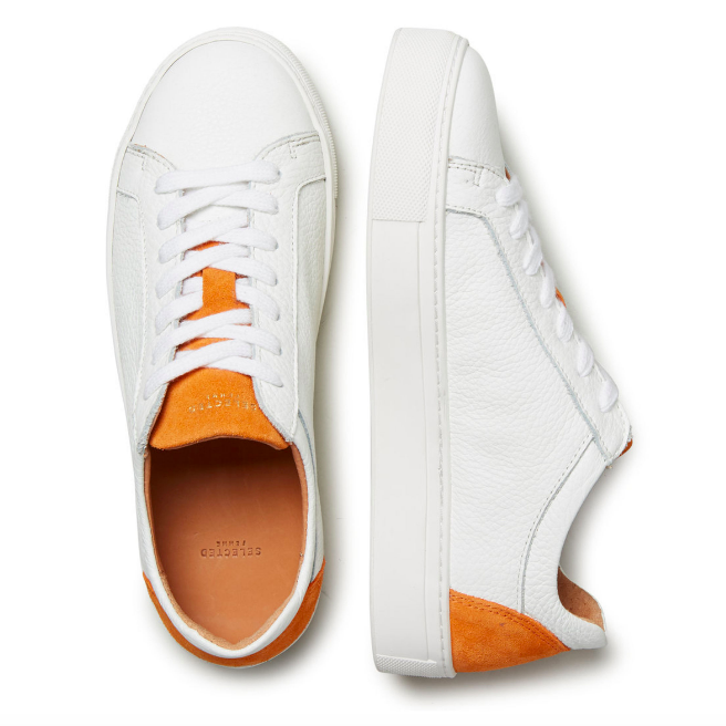 SELECTED FEMME LEATHER - SNEAKERS £90