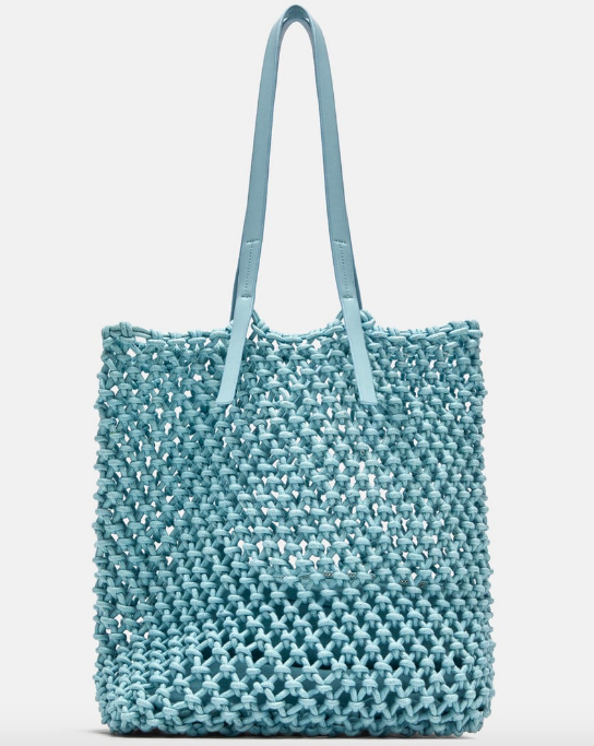 ZARA TOTE BAG WITH KNOTTED DETAIL £29.99